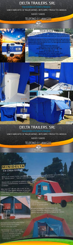 Fabrica Delta Trailers, Batanes, Casas Rodantes, Campers,etc
