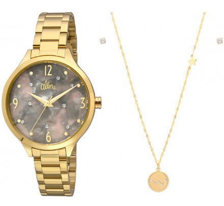 Relógio Allora Feminino Al2036fii/k4c