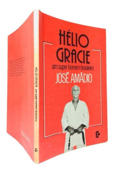 Hélio Gracie Autografado Livro Hélio Gracie Jiu Jitsu Raro