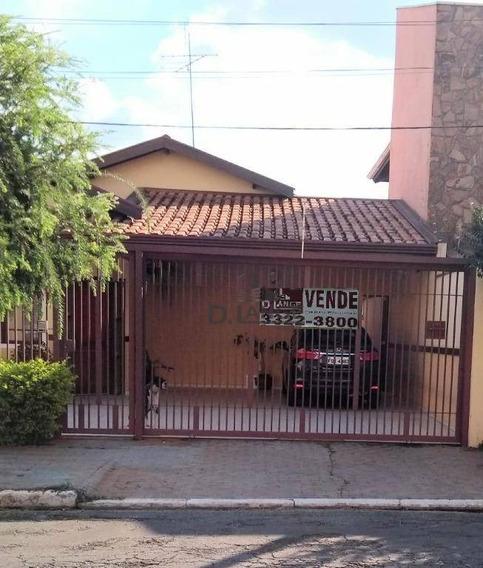 Casa Residencial À Venda, Mansões Santo Antônio, Campinas. - Ca11957