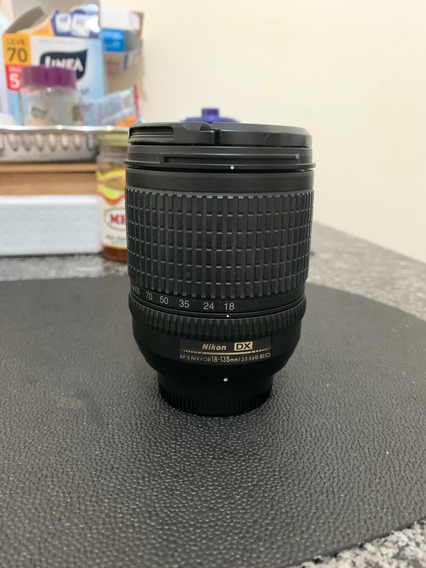 Lente Nikon 18-135mm Ed