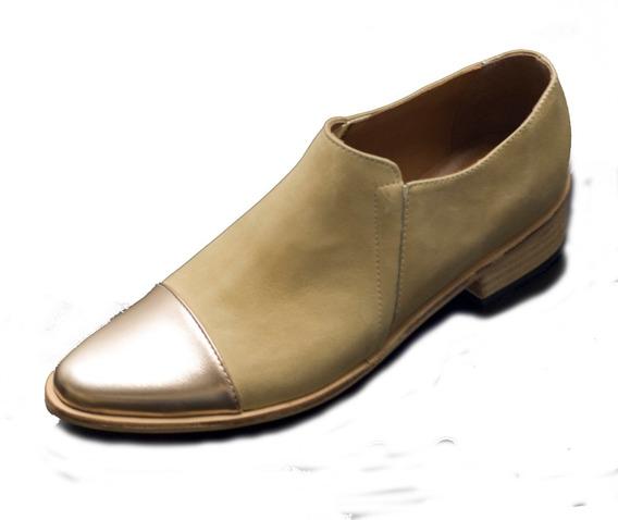 Zapatos Mocasines Mujer I Cuero Vacuno