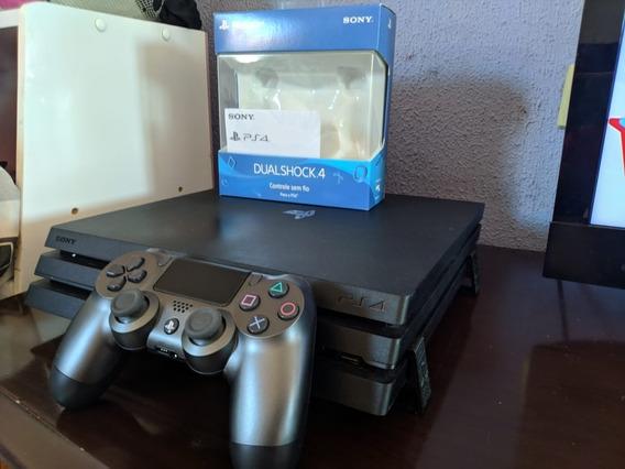 Playstation 4 Pro Ps4 Pro 1tb C Controle Edição Limitada