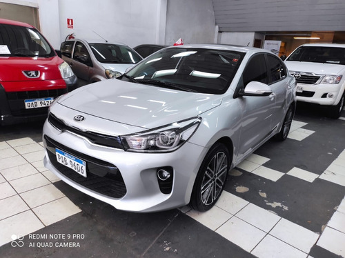Kia Rio 4 Ex Plus At 2019 Inmaculado!! Automotora Union