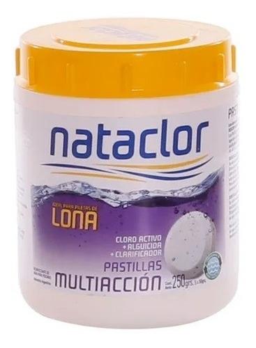 Imagen 1 de 5 de Kit Para Pileta De Lona Pastillas Multiacción-boya Nataclor
