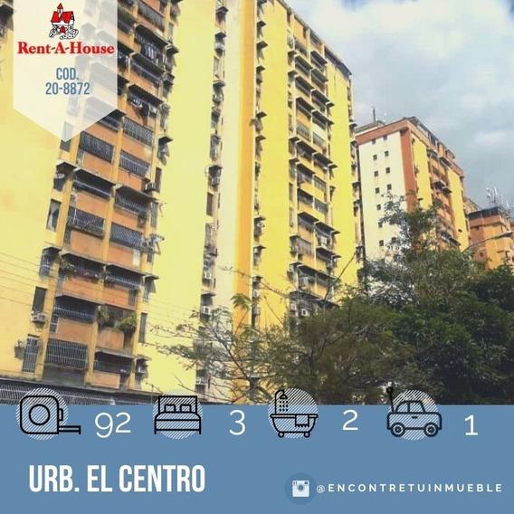 Apartamento En Venta En Maracay Urb. El Centro 20-8872 Scp