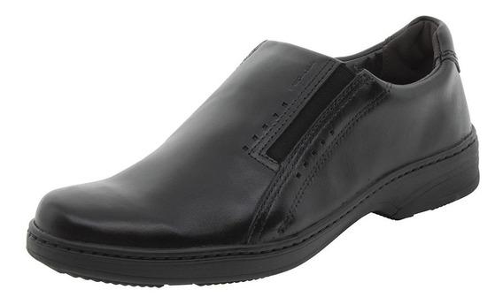 Sapato Masculino Social Preto Pegada - 21211