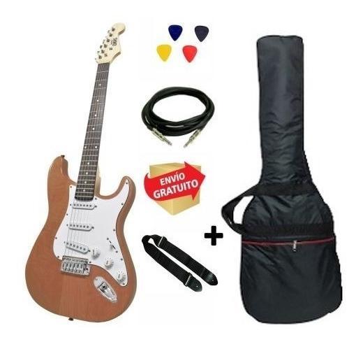 Guitarra Eléctrica Strato Onas Funda Correa Cable Dw Envio