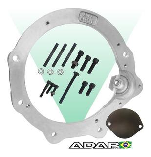Flange Motor Ap X Câmbio Do Fusca - Adap Brasil +boné Brinde