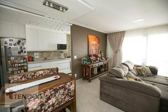 Apartamento 81 M² - 3 Dormitórios - 1 Suíte - Independência - São Bernardo Do Campo/sp - Ap0204