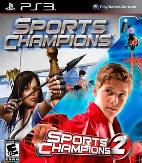 Sports Champions + Sports Champions 2 Ps3 Digital Gcp
