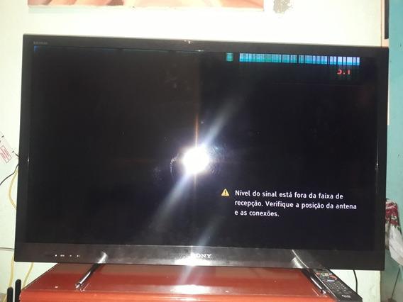 Vendo Tv Sony Bravia 40 Polegadas Problemas Na Tela
