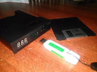 Emulador De Disquetera Floppy Usb Cnc Sfr1m44-u100k