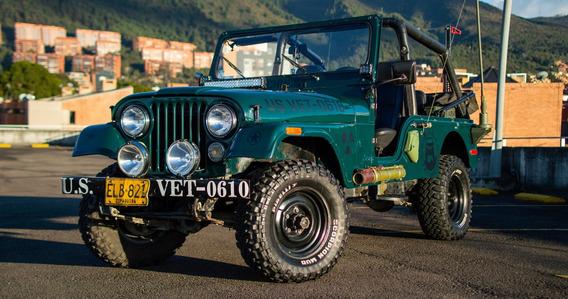 Jeep Willys Cj6 1979 Militar