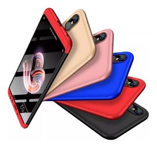 Funda 360º Cubre Completo Full 3 En 1 Samsung A10 A20 A30 A50