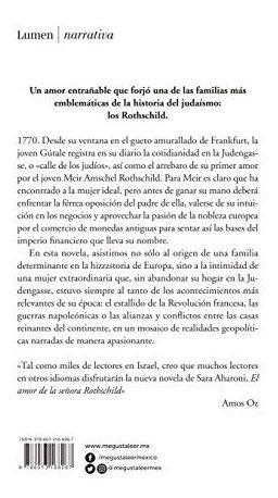 El Amor De La Señora Rothschild Señora Rothschilds Amor Ed Mercado Libre