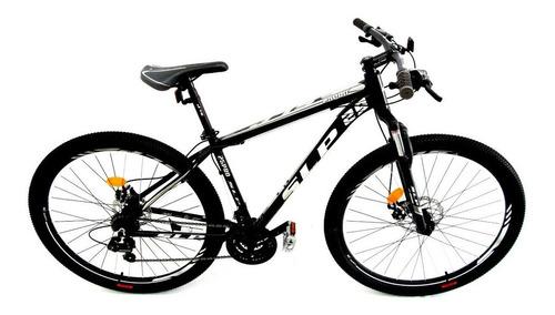 """Mountain bike SLP 25 Pro R29 18"""" 21v frenos de disco mecánico cambios Shimano Tourney TZ31 y Shimano Tourney TZ500 color negro/blanco/gris"""