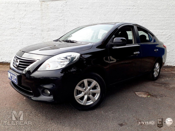 Nissan Versa 1.6 16v Flex Sl 4p Manual 2012/2013