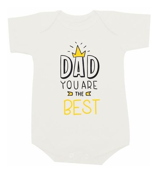 Body Bebê Camiseta Infantil Dia Dos Pais Dad You Tematica