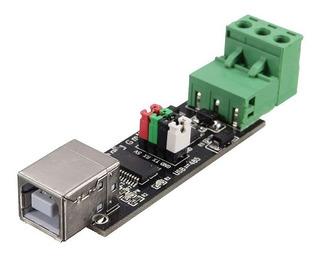 Conversor Adaptador Usb A Ttl Y Rs485 Max485 - Ftdi