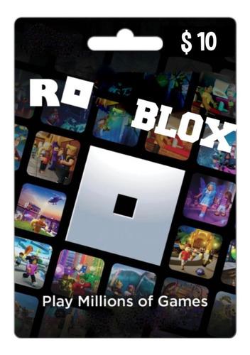 Roblox Card Digital (código) U$10