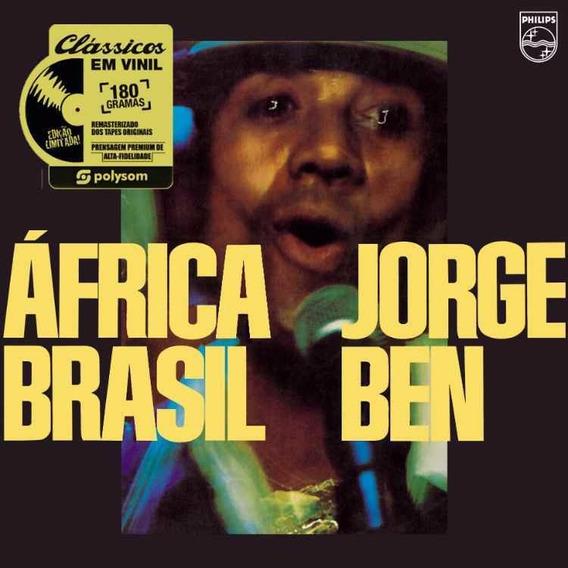 Lp Jorge Ben África Brasil Vinil 180g Lacrado Produt Oficial