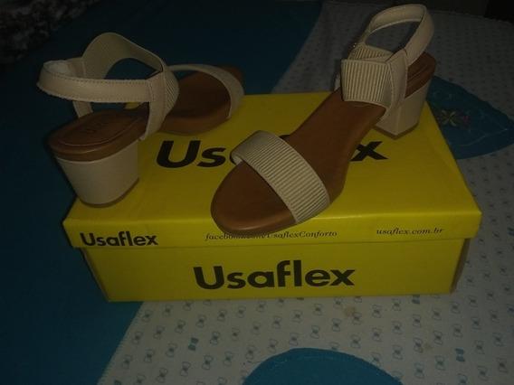 Sandália Usaflex Usada