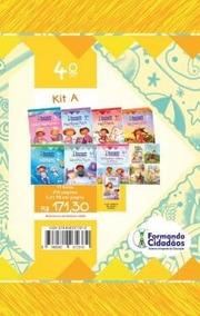 Combo - 01 Kit E 02 Livros - Escolar - 2018 - 4° Ano