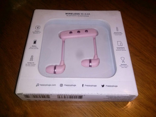 Auriculares Happy Plugs Bluetooth Wireless In Ear / Rosa