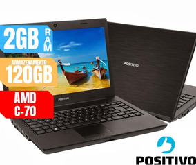 Notebook Positivo Ram 2gb Hd 120gb A Pronta Entrega