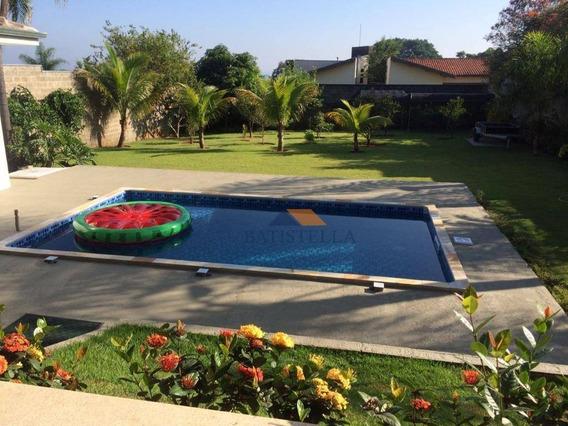 Chácara Com 3 Dormitórios À Venda, 1100 M² Por R$ 800.000,00 - Royal Palm - Limeira/sp - Ch0027
