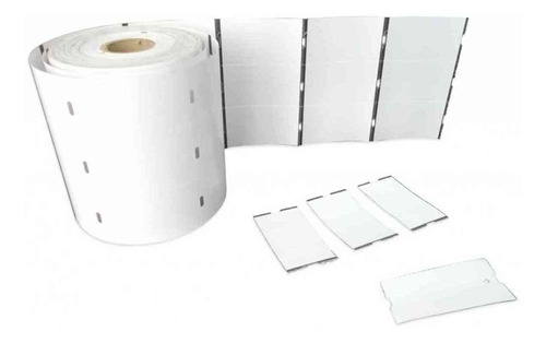 Rollo 2.500 Etiquetas Propalcote 3.5cm X 6.5cm A 3 Columnas