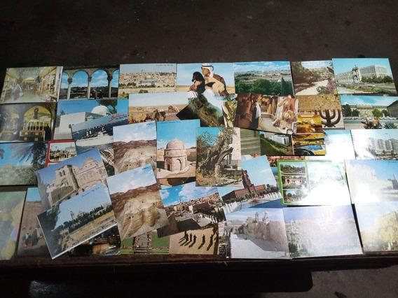Postales Antiguas Israel Lote De 50