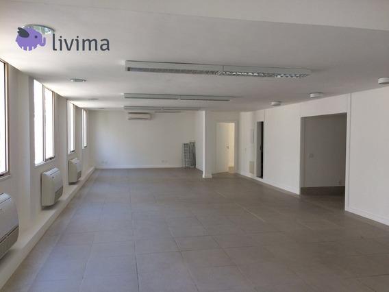 Excelente Andar Comercial 320m² Para Locação Centro, Rj - Liv-0875