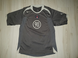 Rara Camisa Do Paris Saint Germain 2004 Nike Total 90 - Psg
