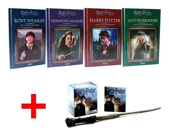 Harry Potter Guia Cinematográfico + Kit Wizards Wand Sticker