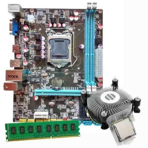 Kit Intel Lga 1155 + I5 3470 + Cooler + 4gb Ddr3
