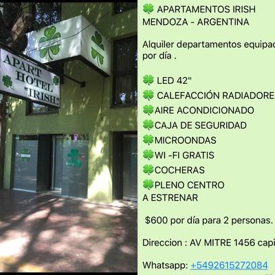 Departamentos En Mendoza Pleno Centro
