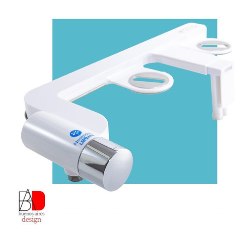 Imagen 1 de 10 de Bidet Matic Para Inodoro Universal Premium C/ Luz + Kit Inst