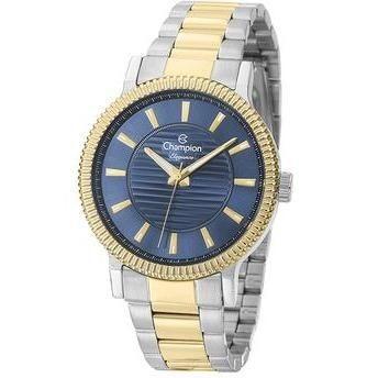 Relógio Champion Elegance Feminino Cn27536a Bicolor