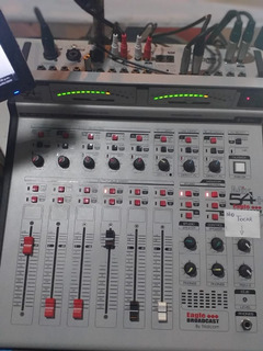 Consola Fm Mix54 C/ Torreta 6 Canales