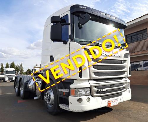 Imagem 1 de 15 de Scania R 440 Ano 2013/13 6x4 Bug Leve Automático ²