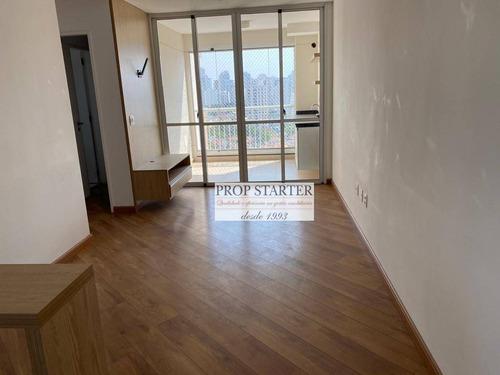 Imagem 1 de 24 de Apartamento Com 2 Dormitórios 1 Suite,  Para Alugar, 63 M² Por R$ 2.400/mês - Campo Belo - Prop Starter Adm.imoveis - Ap0572