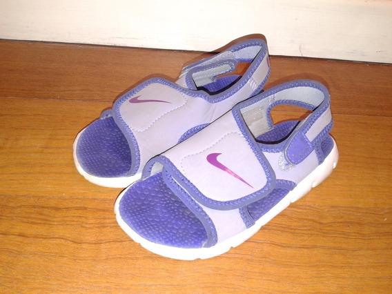 Sandalias Nike Neoprene Nena Importadas! Us7=23, Us9=25