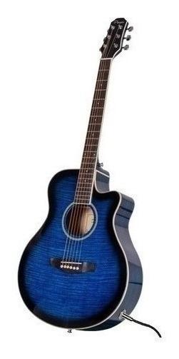 Guitarra Electroacustica Parquer Media Caja Envios