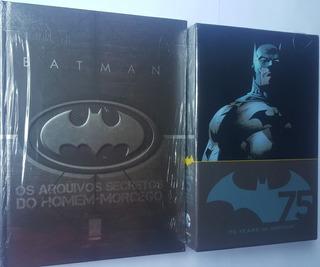 Os Arquivos Secretos Homem Morcego + Batman 75h Anniversary