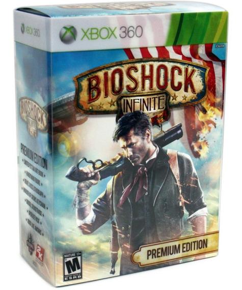 Jogo Bioshock - Infinite - Premium Edition (novo) Xbox 360