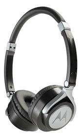 Fone Estereo Com Fio Motorola Pulse 2 Wired On Ear Preto