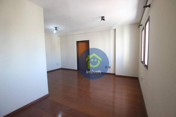 Lindo Apartamento No Centro Com 3 Dormitórios Para Alugar, 120 M² Por R$ 1.200/mês - Parque Industrial - São José Do Rio Preto/sp - Ap7547