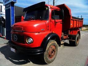 Mercedes-benz Mb 1113 1976 4x2 (toco), Caçamba, Basculante